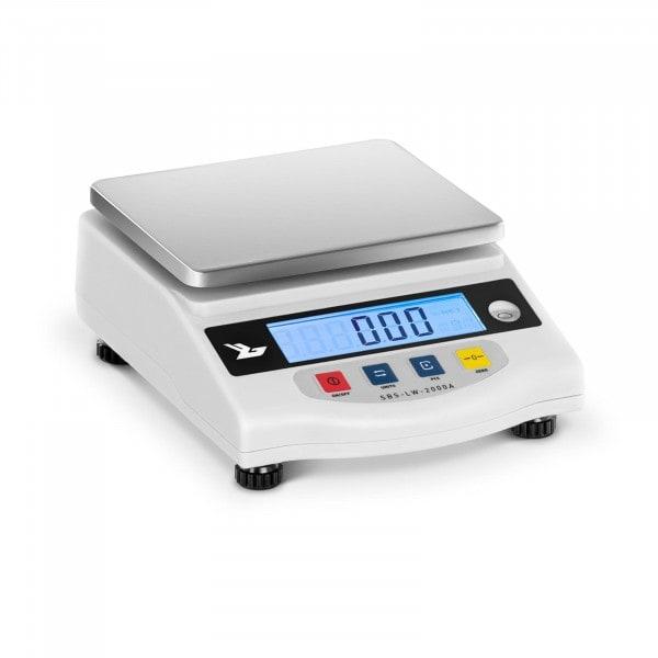 Balance de précision - 2.000g / 0.01g - LCD