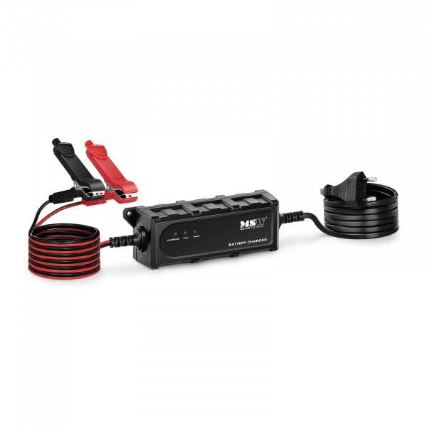 Chargeur de batterie de voiture - 6/12 V - 1 A - 4-120 Ah