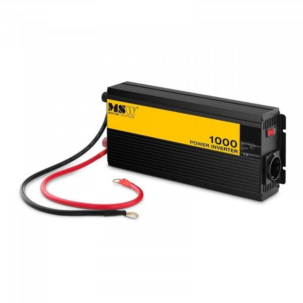 Onduleur de voiture - Sinus pur - 1 000 watts