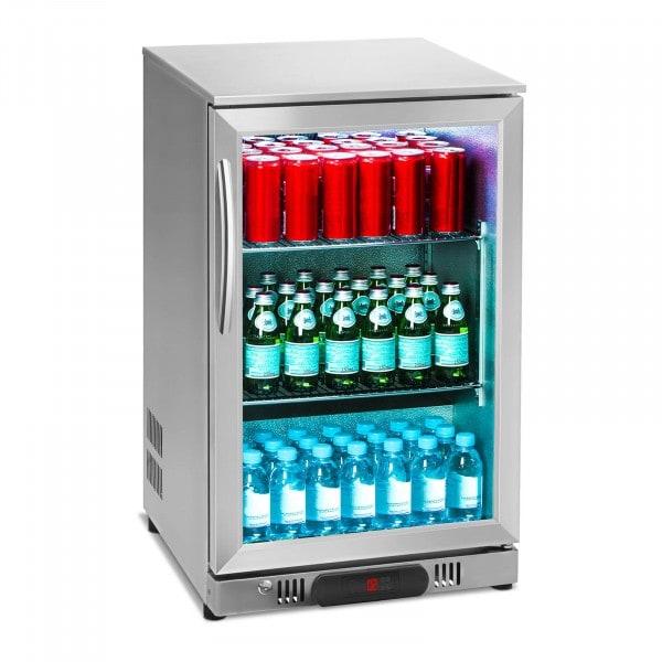 B-WARE Frigo boisson - 108 L - acier inoxydable