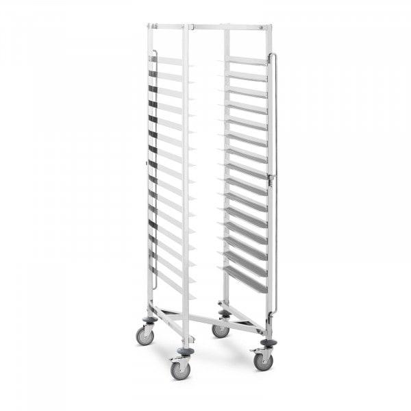 Chariot porte-plateaux - 15 niveaux - 150 kg
