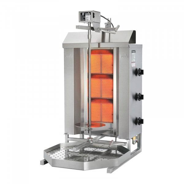 Machine à kebab - 8400W - Erdgas