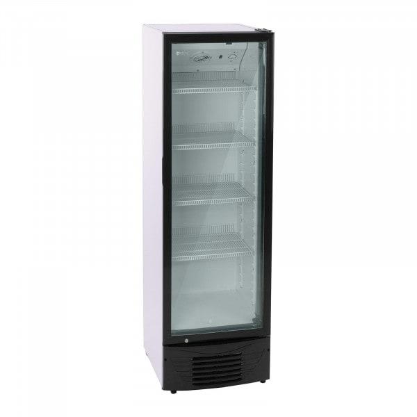 Frigo à boissons - 320 L - LED - cadre noir