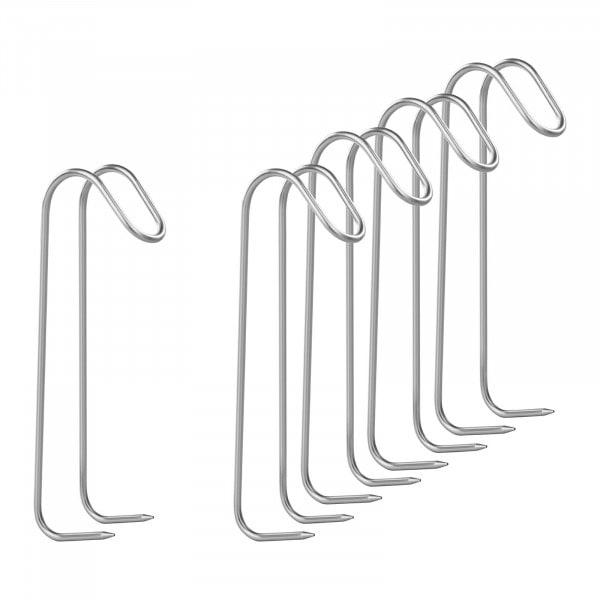 Crochets de fumage set de 5 pièces - avec deux pointes