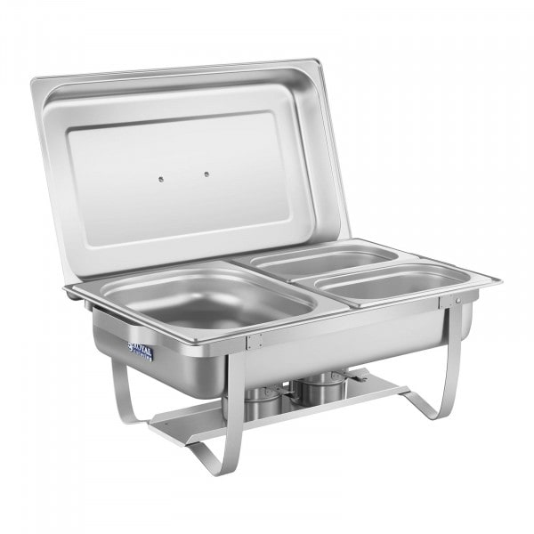 B-WARE Chafing Dish - 53 cm - bacs GN inclus