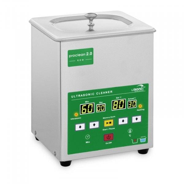 B-WARE Nettoyeur ultrason - 2 litres - 60 W - Memory Quick Eco