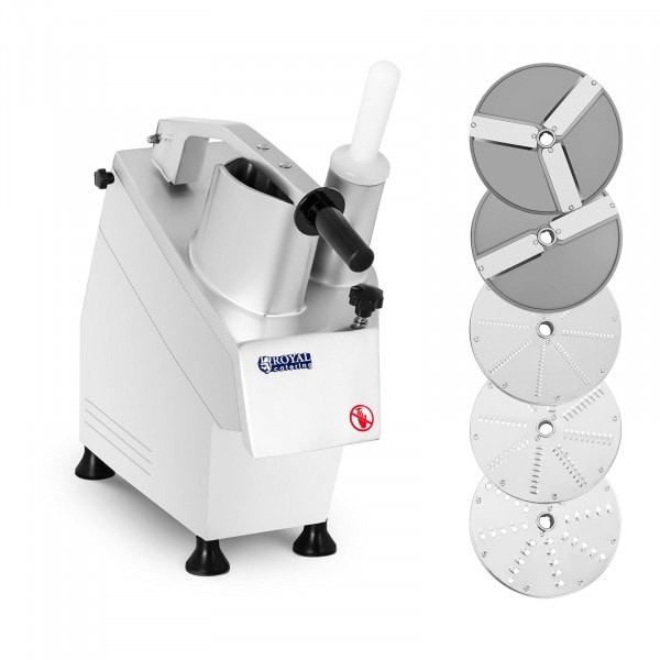 Robot coupe-légumes électrique - 5 disques