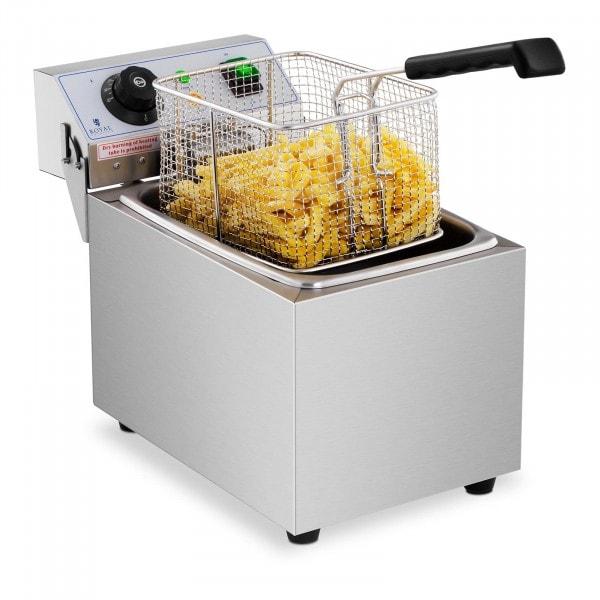 Friteuse électrique - 8 litres - 230 volts