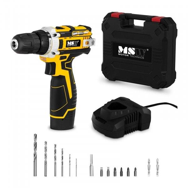 Perceuse-visseuse sans fil - 10,8 V - 1 500 tr/min - 25 Nm - accessoires inclus