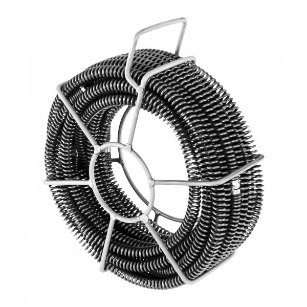 Spirales de plomberie - Lot de 6 x 2,45 m - Ø 16 mm