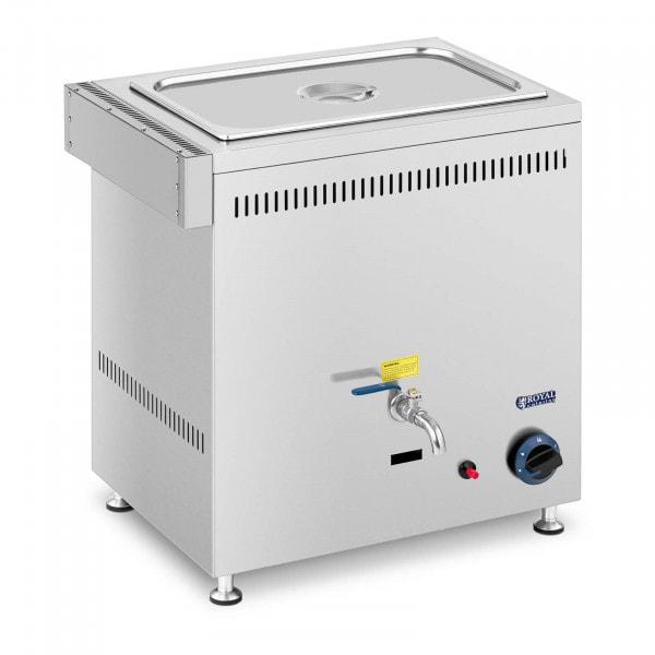 Bain-marie à gaz - 3300 W - GN 1/1 - 0,03 bar - G31