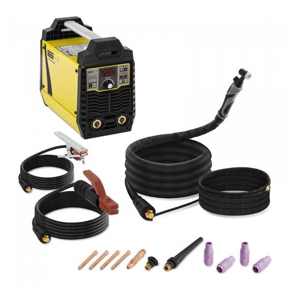 Set d'appareil de soudage à électrodes - 200 A avec torche de soudage TIG Lift-arc