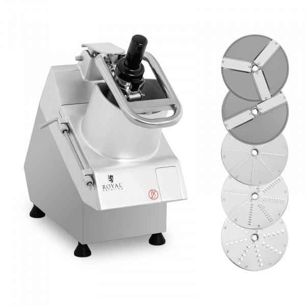 Robot coupe-légumes électrique - 750 W - 5 disques - Ø 205 mm