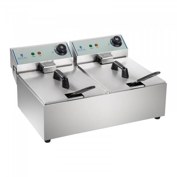 Friteuse électrique - 2 x 10 litres - ECO