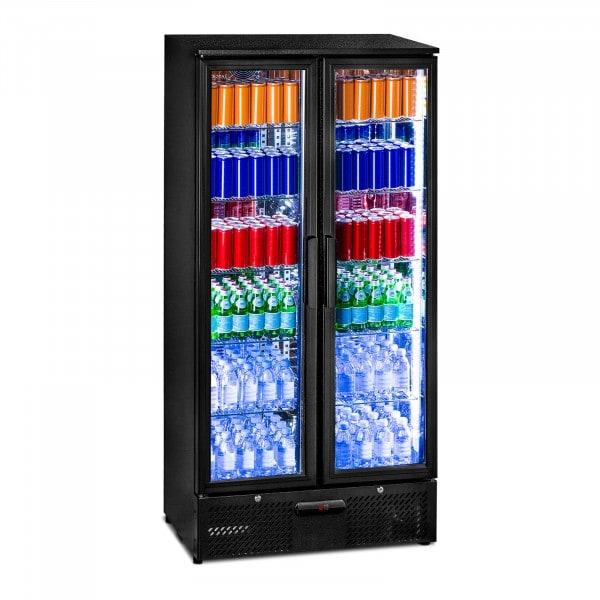 Frigo boisson - 458 L - Design noir et sobre