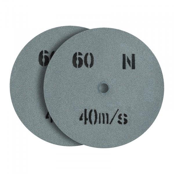 Meule de rechange pour touret a meuler - 200 x 20 mm - 60 grains