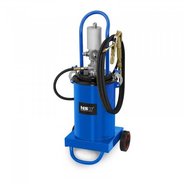 Pompe à graisse pneumatique - 12 litres - Mobile - Pression de 240 à 320 bars