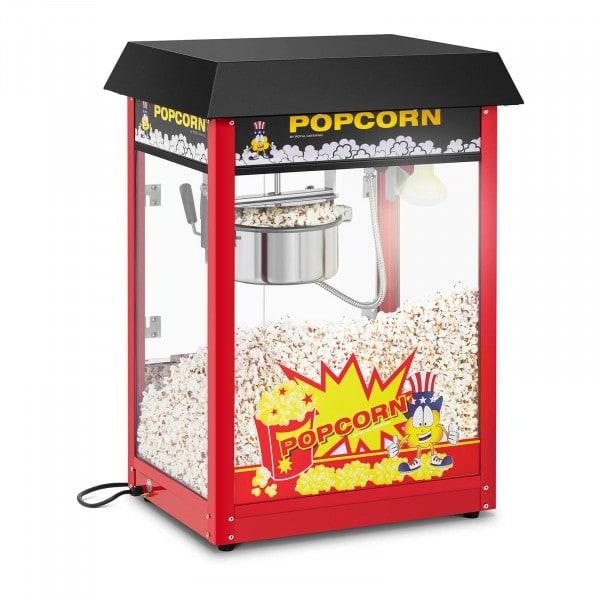 Machine à popcorn - Cycle de préparation de 120 s - Toit noir