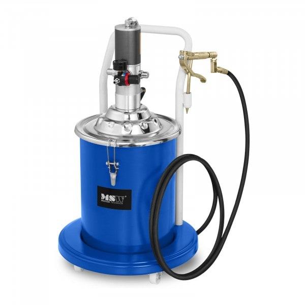 Pompe à graisse pneumatique - 20 litres - Mobile - Pression de 300 à 400 bars