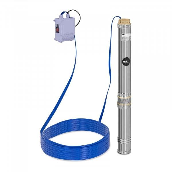 Pompe immergée - 10 800 L/h - 1 100 W - acier inoxydable