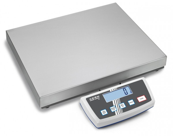 KERN Balance plateforme en acier inoxydable DE-D - 60kg