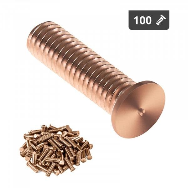 Goujons de soudage - M3 - 12 mm - Acier - 100 pièces