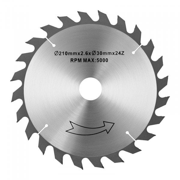 Scie de rechange pour scie circulaire - Ø 210 mm