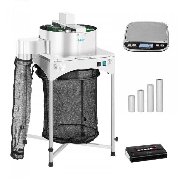 Machine à manucurer électrique - Set - Ø 39 cm - Machine sous vide alimentaire avec sachets - Balance de table