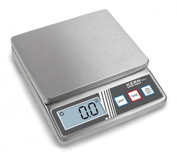 KERN Balance de table FOB 5K1S 5 kg / 1 g