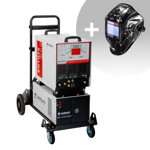 Set d'équipement de soudage Poste à souder aluminium - 315A - 400V - Puls + Masque de soudure – Metalator– EXPERT SERIES