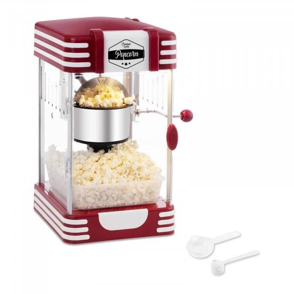 Machine à popcorn - Design rétro années 1950 - Rouge