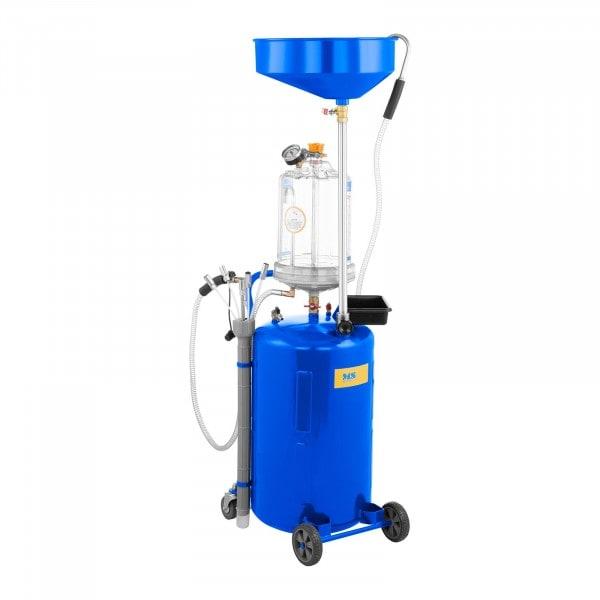 Extracteur d'huile moteur - Réservoir de 75 L