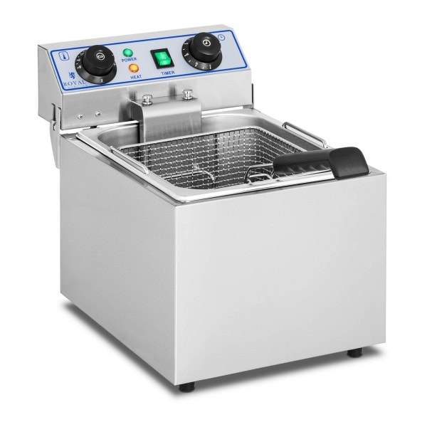 Friteuse électrique - 1 x 13 litres avec minuterie (60 min.)