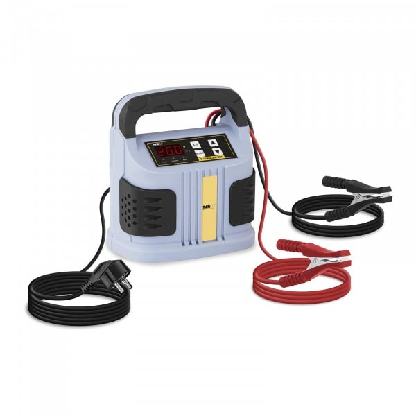 B-WARE Chargeur de batterie voiture - 6/12/24 V - 2 à 20 A - Écran LED