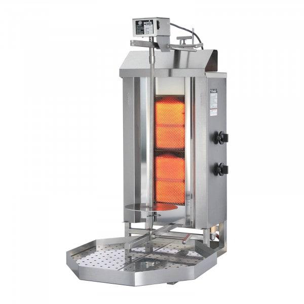 Machine à kebab - 5600W - Propane-butane