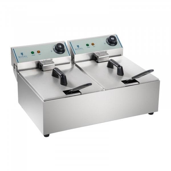 Occasion Friteuse électrique - 2 x 10 litres - ECO