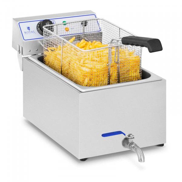 Friteuse électrique - 1 x 17 litres - Appropriée pour le poisson