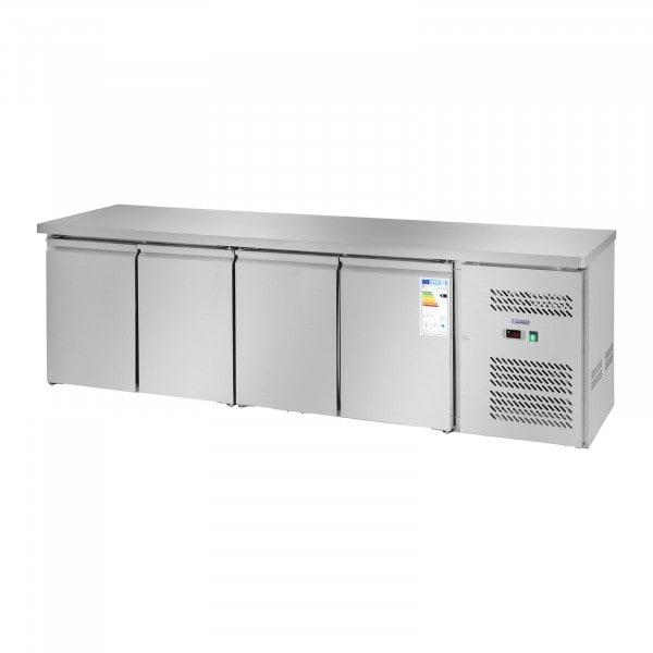 Table réfrigérée - 450 L - 4 portes