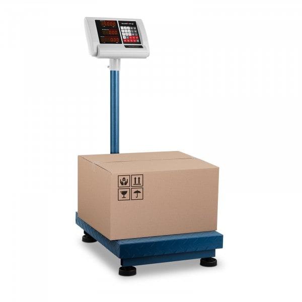 Balance plateforme - 150 kg / 10 g - 40 x 50 cm - Compacte