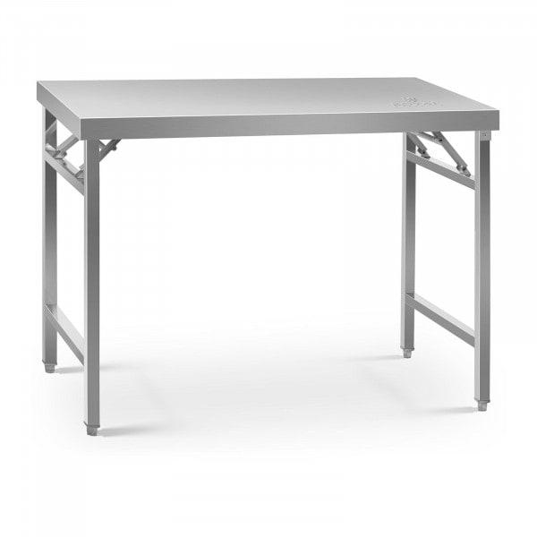 Table de travail pliante - 70 x 120 cm - Capacité de 215 kg