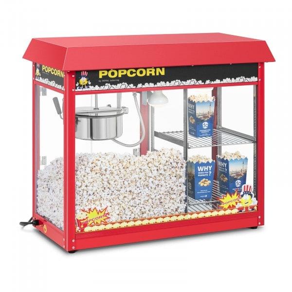 Machine à popcorn avec compartiment chauffant - Rouge