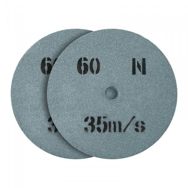 Meule de rechange pour touret a meuler - 150 x 16 mm - 60 grains