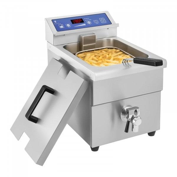 Friteuse à induction - 1x 10 litres - 60 à 190°C