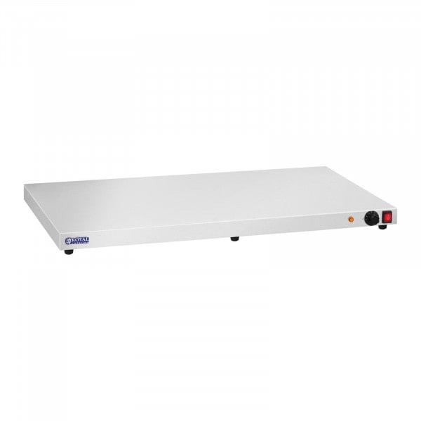 Occasion Chauffe-plats en inox - 600 watts - Acier inoxydable - 100 cm