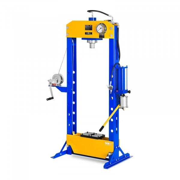 Presse d'atelier hydropneumatique - 50 tonnes de pression