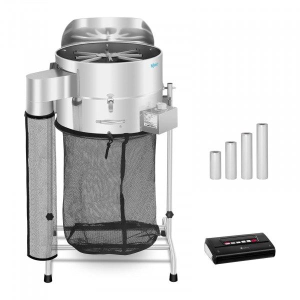 Machine à manucurer électrique - Set - Ø 42 cm - Machine sous vide alimentaire avec sachets - Balance de table