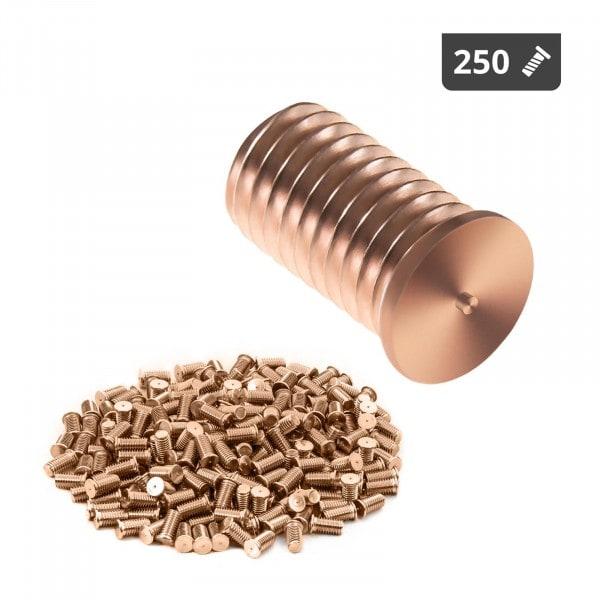 Goujons de soudage - M8 - 16 mm - Acier - 250 pièces