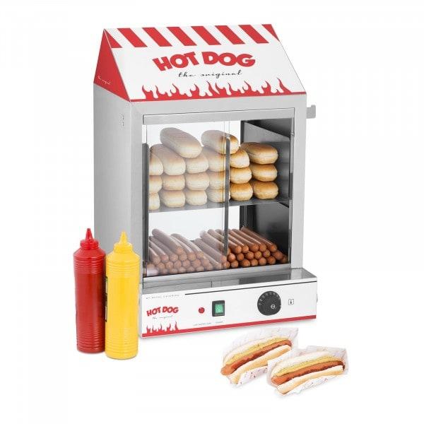 Cuiseur à vapeur hot-dogs - 2 000 W