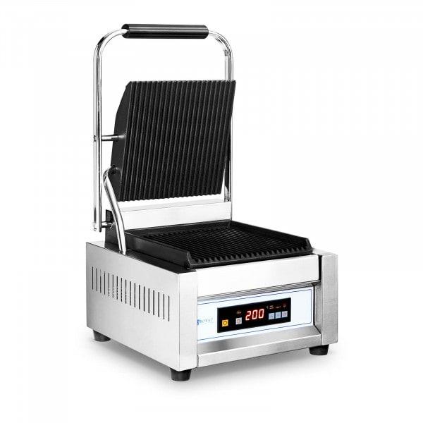 Machine à panini rainurée - 10057 - 1 800 W