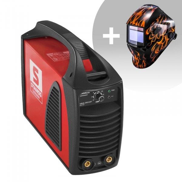 Set d'équipement de soudage Poste à souder à l'arc - 200A - Hot Start - IGBT + Masque de soudure –Firestarter 500 – ADVANCED SERIES